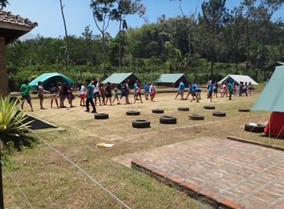 Area camping & olahraga