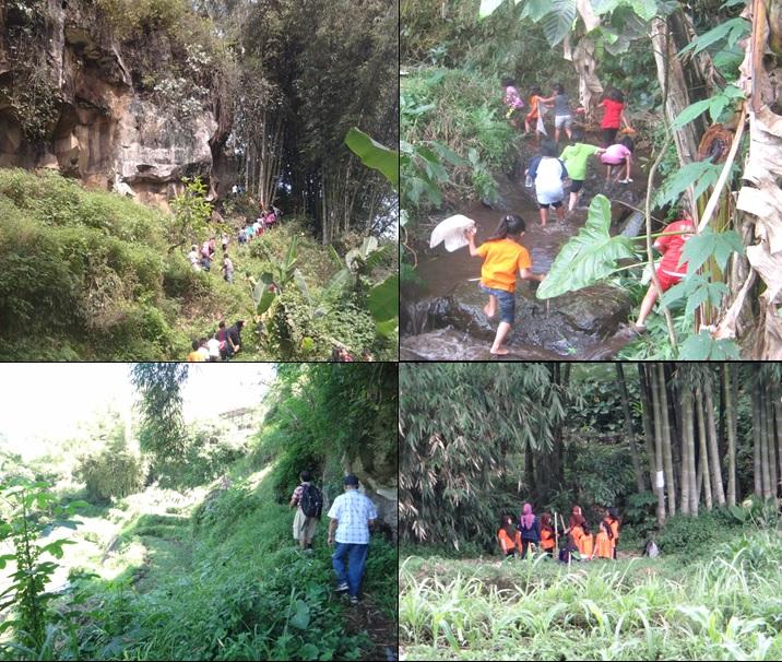 Trekking alam